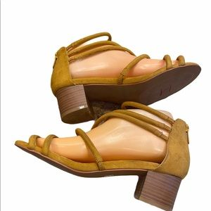 Torrid yellow sandals